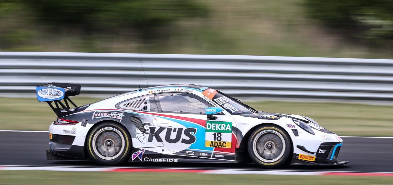 Matteo Cairoli targets points as ADAC GT Masters heads to Austria