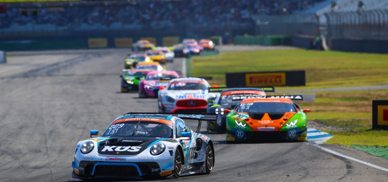 Matteo Cairoli takes ADAC GT Masters point with a race two top-ten finish at Hockenheim