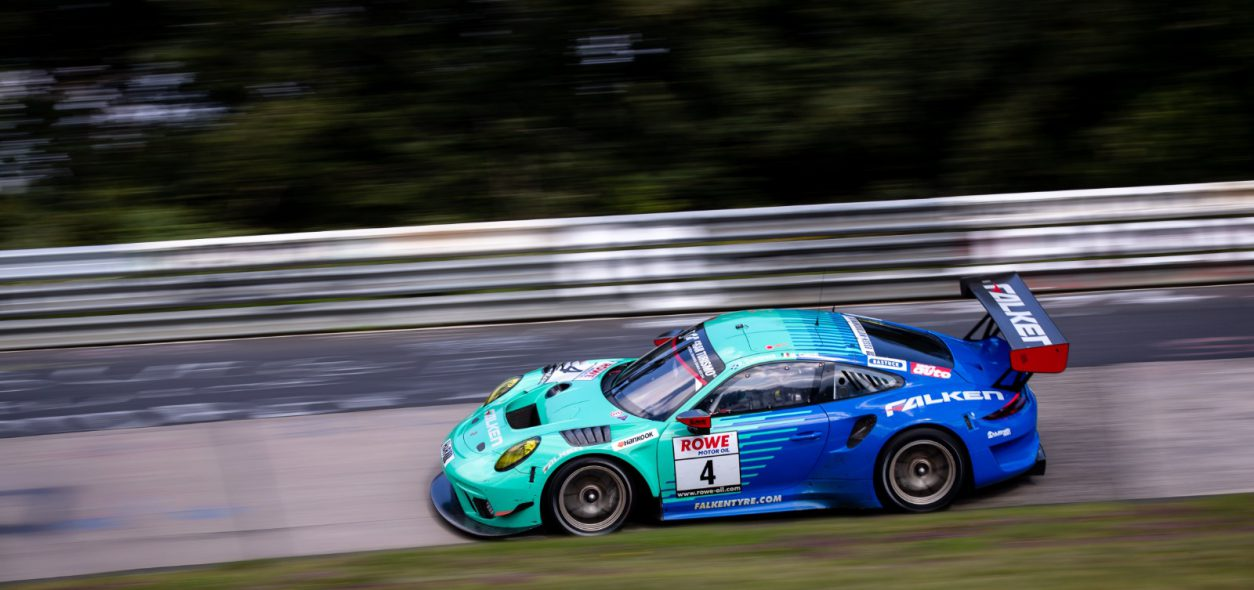 MATTEO CAIROLI ENDS TEST RACE AT NÜRBURGRING ON 14th WITH FALKEN MOTORSPORT'S PORSCHE