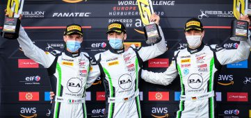 Matteo Cairoli clinches magnificent GT World Challenge Europe victory at the Nürburgring