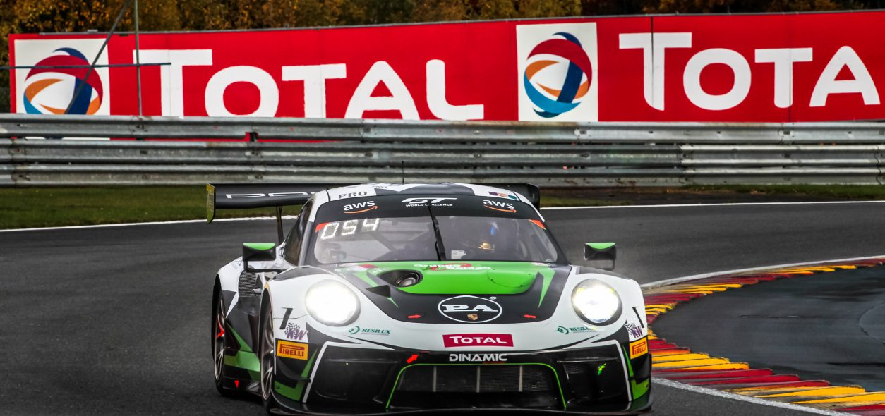 Matteo Cairoli secures strong podium finish at 24 Hours of Spa