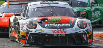 Matteo Cairoli makes maiden Italian GT outing