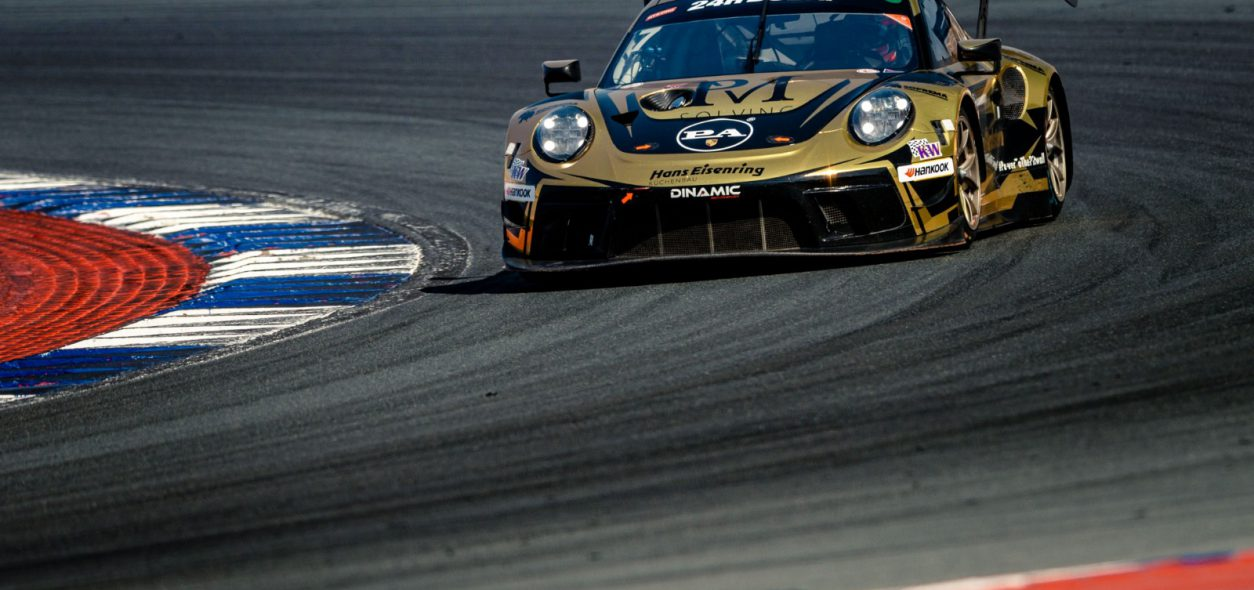 Matteo Cairoli's charge ends prematurely at the 24H Dubai